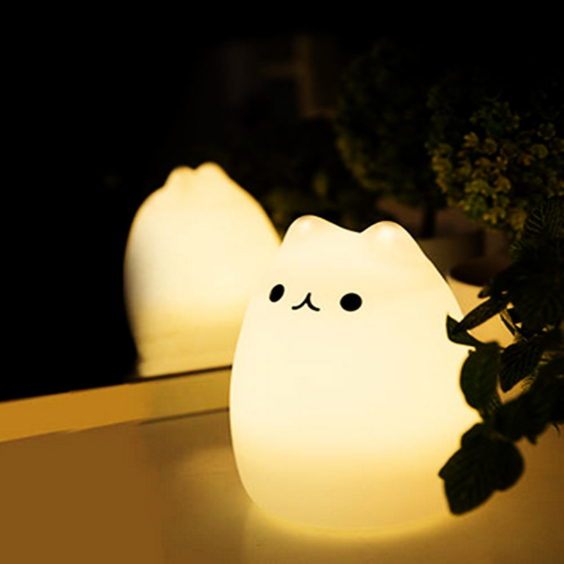 Squishy Cat Night Light : Cat Night Light
