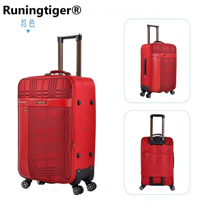 Oxford Trolley Wheeled Suitcase set man's Business Large Travel Bag 2026 Luggage Unisex Canvas Luggage Rolling Bording Luggage