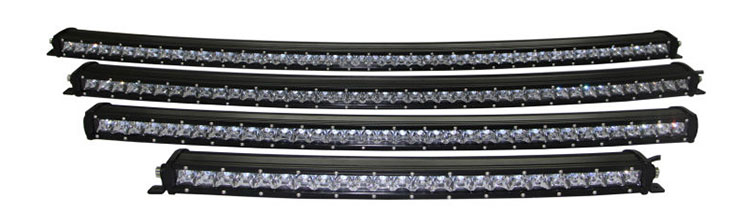 curved High Power Long Distance Super Slim Single Row Curved Work Car Light Bar Offroad Driving Lamp Auto Parts SUV  UTE 4WD ATV Boat 4x4 Trailer Camper Tractor Truck 12 Volt (2)