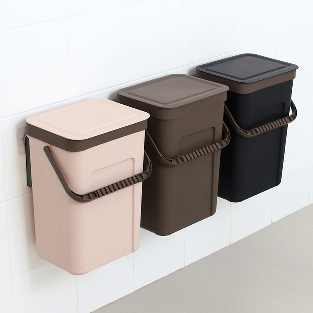 Kitchen trash can household with lid pedal style creative ...