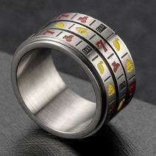 Мужское и женское кольцо с фруктами Размер 7 11 вращающиеся
