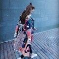 Осень мори девушка новых женщин свитер кардиганы весна детские lovely свободно опрятный стиль женский длинные кардиганы Бейсбол куртки