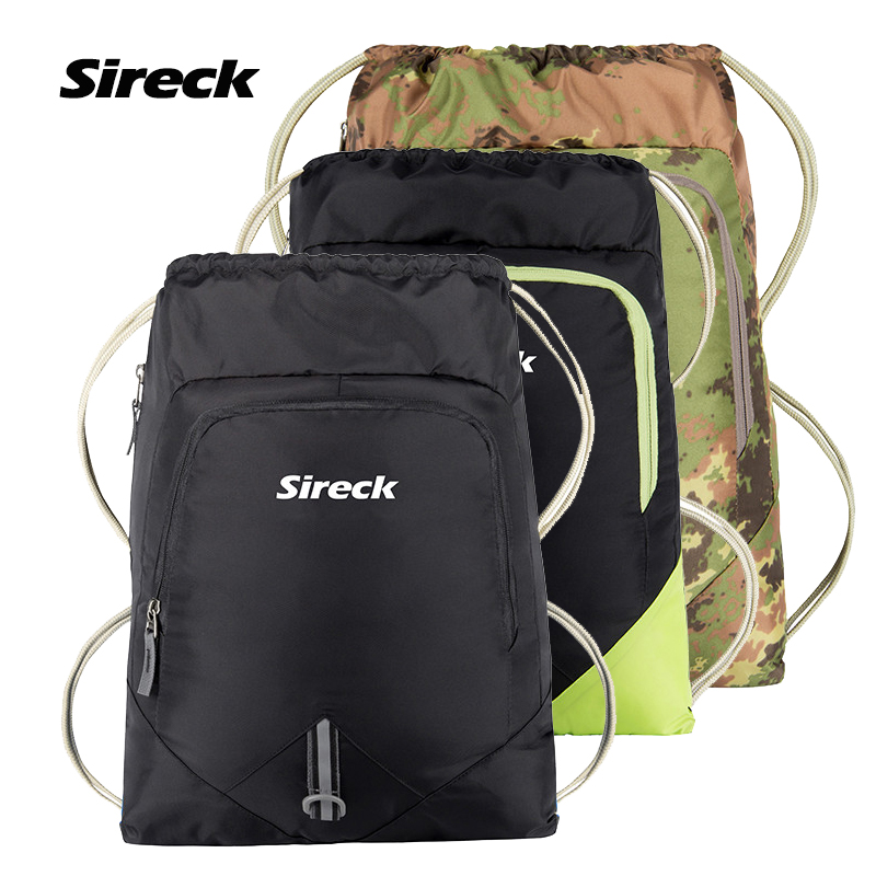 Sireck 15L Sports Gym Bag Folding Backpack Men Women Ultralight Running Pack Travel Camping Training Berbasikal Fitness Bag Mochila