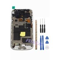 Écran lcd Pour Samsung Galaxy S4 Mini i9190 i9195 Tactile Écran Avec Cadre Mobile Téléphone Digitizer Assemblée Pièces De Rechange