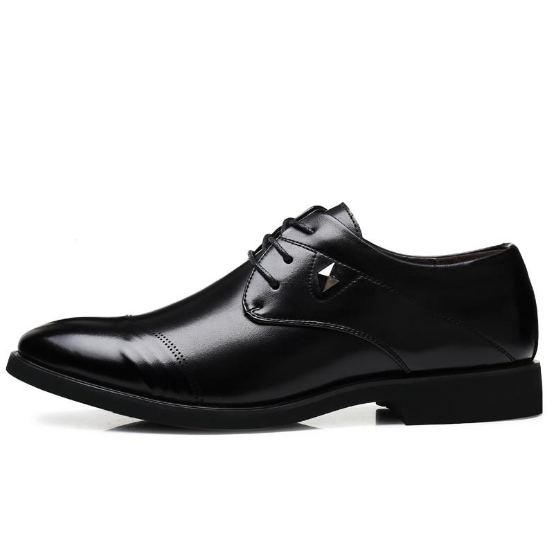 De Cuir Black Mariage Respirant Formelle Marque Noir En Verni Mode Pointu Oxford Mocassins Luxe Mx3 Robe Hommes D'affaires Chaussures dgtxn14w