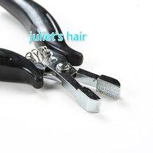 1 шт., ржавеющие черные плоскогубцы для кератинового клея, наконечник для микро-кольца и ленты для наращивания волос, многофункциональные плоскогубцы