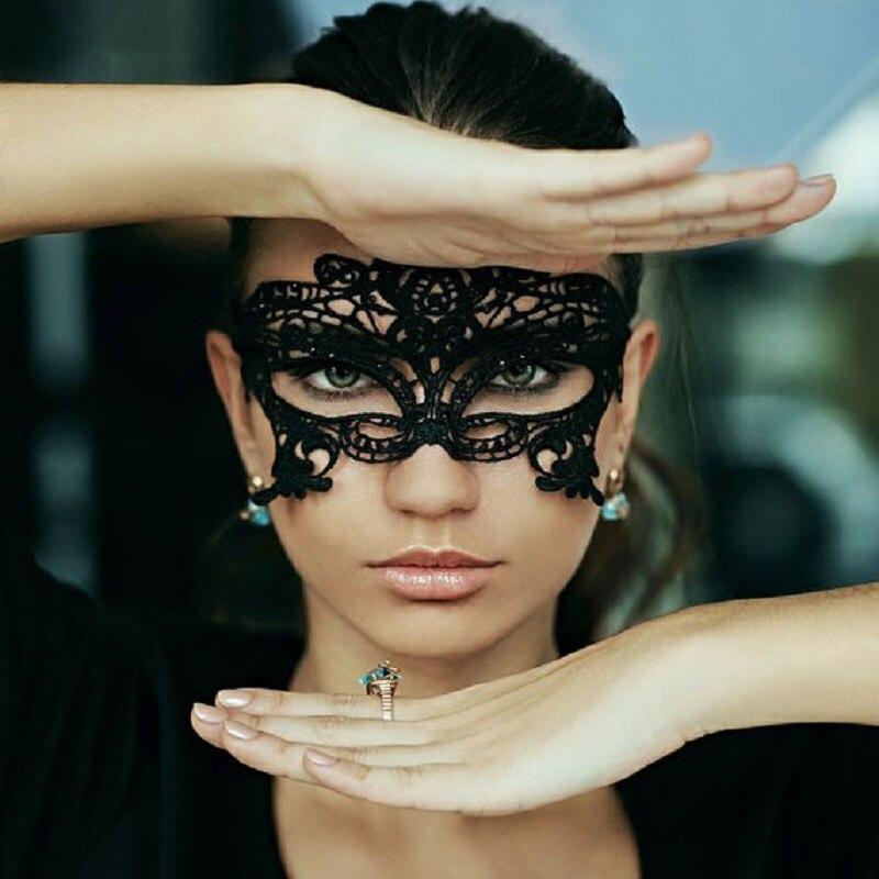 фотосессия в кружевных масках том, как
