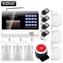 New 6120G 850/900/1800/1900mhz Wireless 120 zones GSM Alarm Systems Security Door PIR Sensors Home Alarm Auto Dialing Dialer