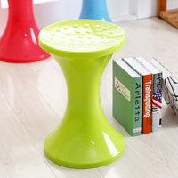Honey Honey Flower Plastic Stool Circle Stool Drum Stool