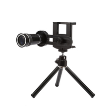 Cellular Telephone Lens Common 10x Zoom Telescope Digicam Telephoto Lenses with Mount Tripod for Samsung Huawei LG Telephones