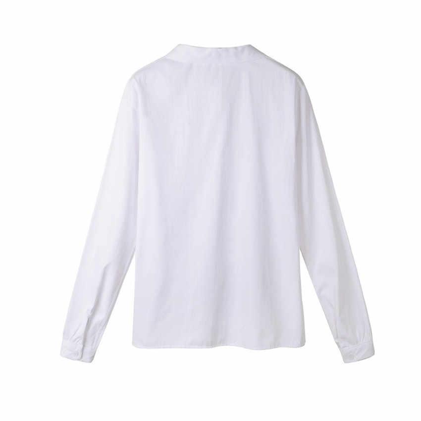53ed4aaab0daa6 ... Cute Japanese School Uniform Style Lolita Girls French Toast JK Blouse  Full Long Sleeve Peter Pan ...