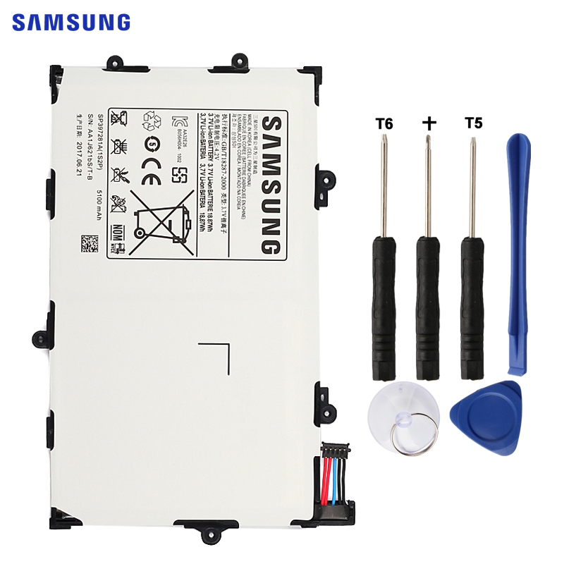 SAMSUNG Original Ersatz Batterie SP397281A Für Samsung GALAXY Tab 7,7 P6800 P6810 i815 Authentische Tablet Batterie 5100 mah