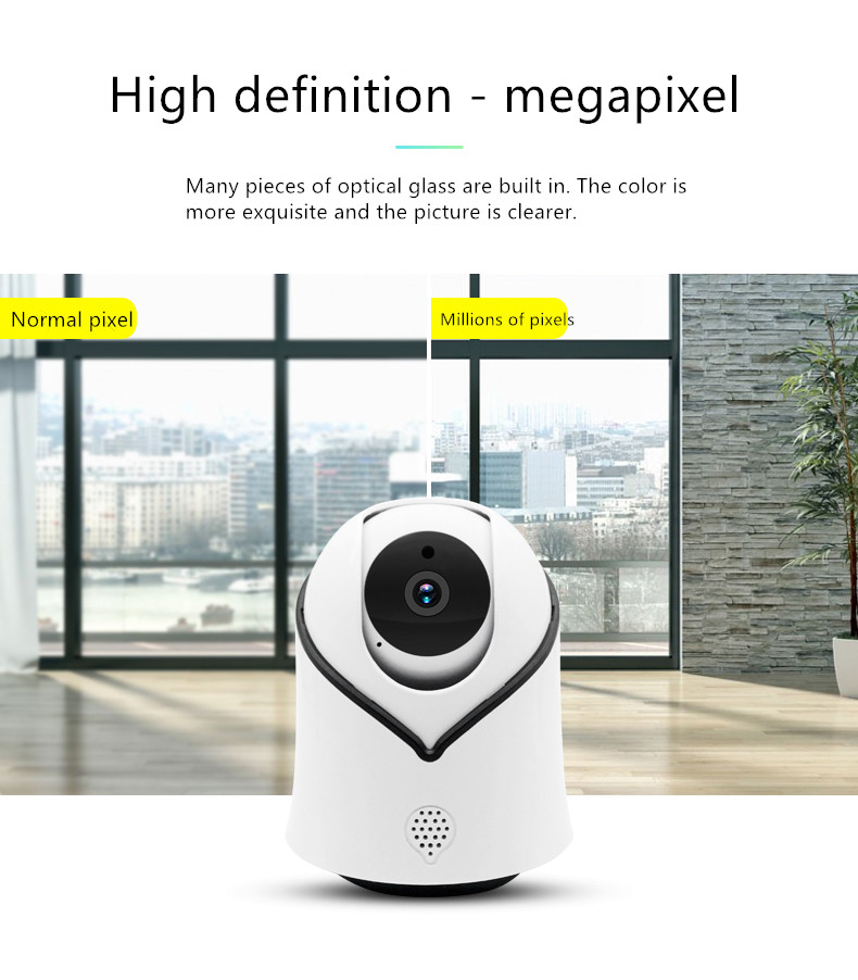 IP Camera- Wireless Surveillance Camera with Night Vision,Two-way Audio,1080P Indoor Home Security Camera for Pet Baby Monitor 2 4ghz wireless night vision surveillance camera with 2 4 lcd handheld two way speaker receiver