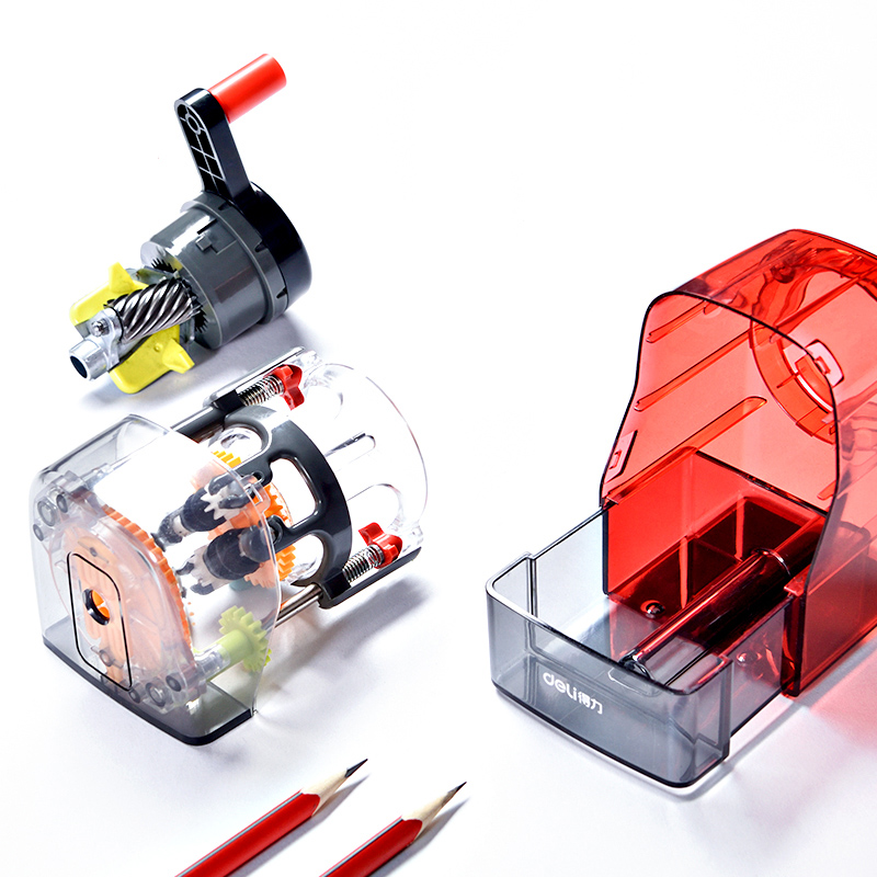 Hand operated Pencil Sharpener Automatic Pen Feeding Student Creative Pen Sharpener Sketch Automatic Lead For Art Students