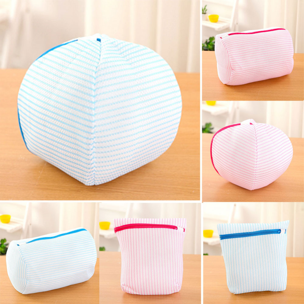Thicken Small Mesh Laundry Bag Large Washing Machine To Wash Bags Nursing Bra Underwear Care 2017 Fashion New B1 In Baskets From