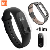 Original Xiaomi Mi Band 2 With Heart Rate Monitor Fitness Bracelet Pedometer Smart Wristband For Xaomi