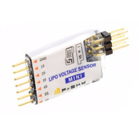 High Quality Frsky Mlvss Mini Lipo Voltage Sensor Smart Port Enable Without OLED Screen For RC