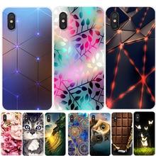 For Xiaomi mi 8 Pro Case Phone Cover Soft Silicone Printing Back Case Coque For Xiaomi Mi 8 Lite mi8 SE Mi8 Pro Mi8Lite Cover