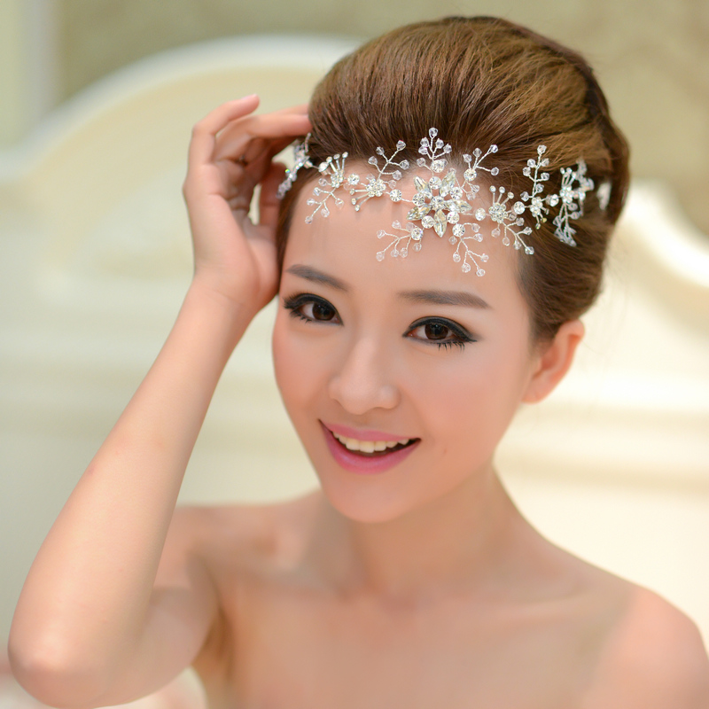 Crystal Hairbands Wedding Headwear Women Jewelry Hair Accessories Bridal Pearl Hairband In From