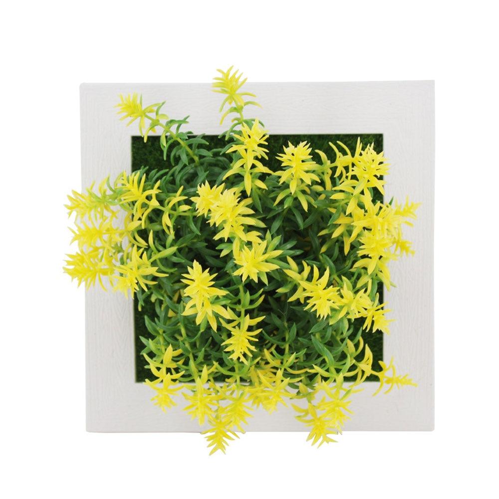 Пастические Цветочные рамки растение фоторамка моделирование 3D растения, искусственные цветы суккулентные растения креативная пастическая эмуляция - Цвет: 17A