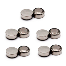 10PCS AG13 LR44  A76 Series Button Coin Cell Pack Alkaline Batteries