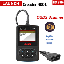 Launch X431 CReader 4001 OBDII/EOBD Auto Diagnostic-Tool Code Reader Obd Scanner With Query DTCs top quality launch creader 5001 car diagnostic tool free update obdii auto diagnosis creader cr5001 odb obd 2 automotive scanner