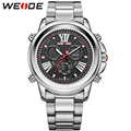 WEIDE Brand Sports Watch Men Analog Digital Display Japan Quartz Waterproof Back Light Military Men Watches Relogio Masculino