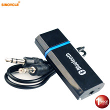 Sinovcle coche Kit de coche Bluetooth adaptador Aux 2,1 + EDR del receptor de Audio Aux de 3,5mm USB Bluetooth Altavoz del coche MP3(China)