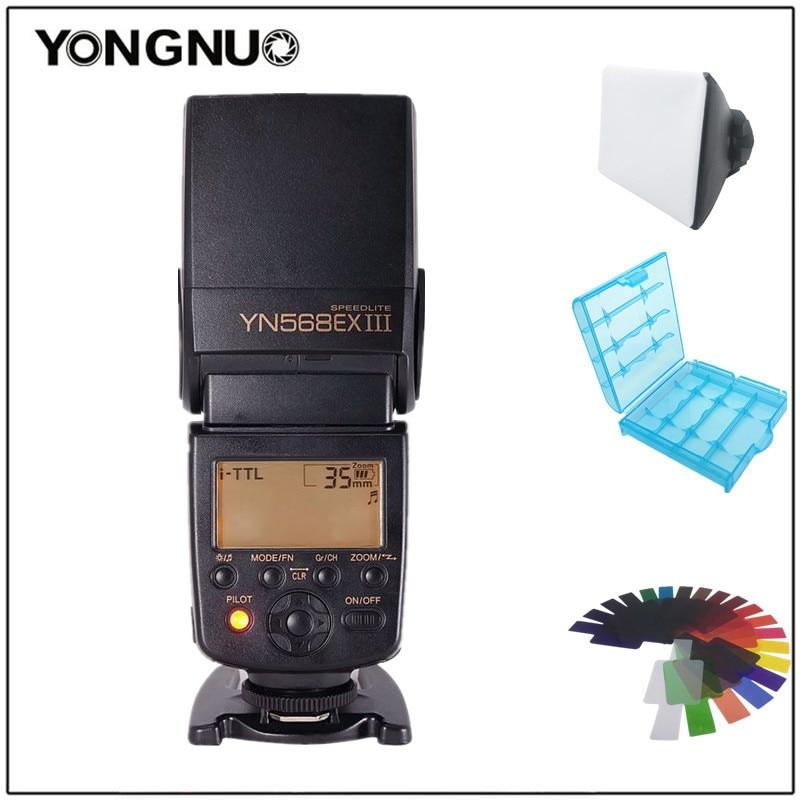 Yongnuo YN568EX III YN-568EX III Wireless TTL HSS Flash Speedlite For Nikon D7400 D7200 D7100 D5600 D5300 D700 D300s SB-910SB-80 yongnuo yn568ex iii 2 4g ttl high speed sync wireless flash speedlite for nikon d750 d810 d3400 d3200 d5600 d5300 d7100 d7200
