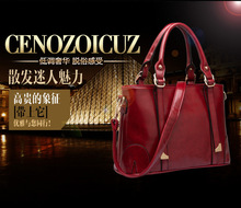 High Quality 2014 Handbag For Women Shoulder bag Fashion Pu Leather Handbag