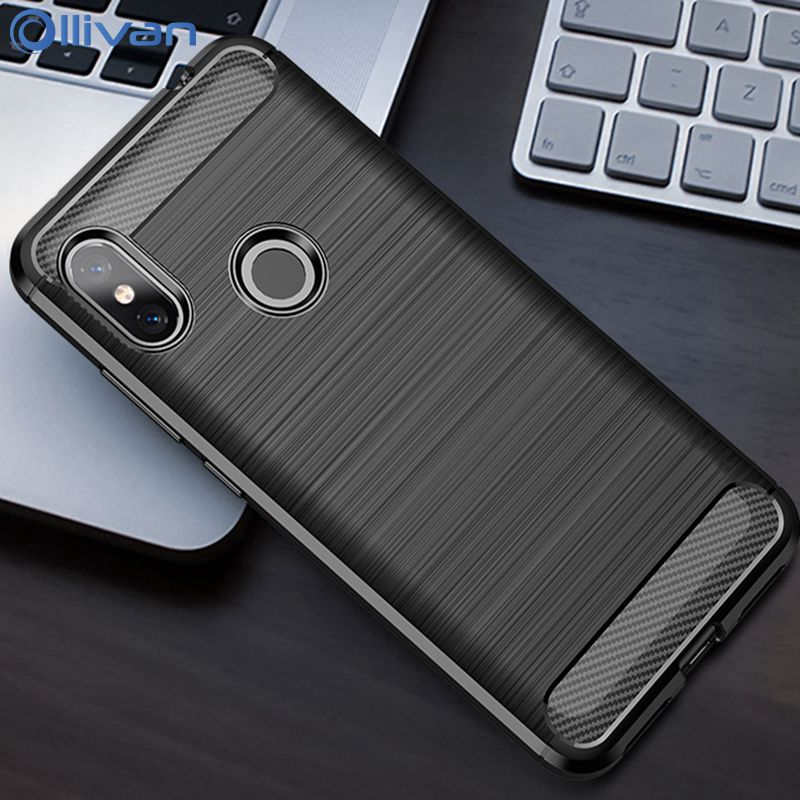 <font><b>For</b></font> RedMi Note 7Case Carbon Fiber <font><b>Soft</b></font> Armor <font><b>ShockProof</b></font> <font><b>Case</b></font> <font><b>For</b></font> <font><b>XiaoMi</b></font> <font><b>Mi</b></font> <font><b>9</b></font> 8 <font><b>SE</b></font> A1 A2 A3 A 3 Lite XioMi Redmi 7 <font><b>Silicone</b></font> Coque image