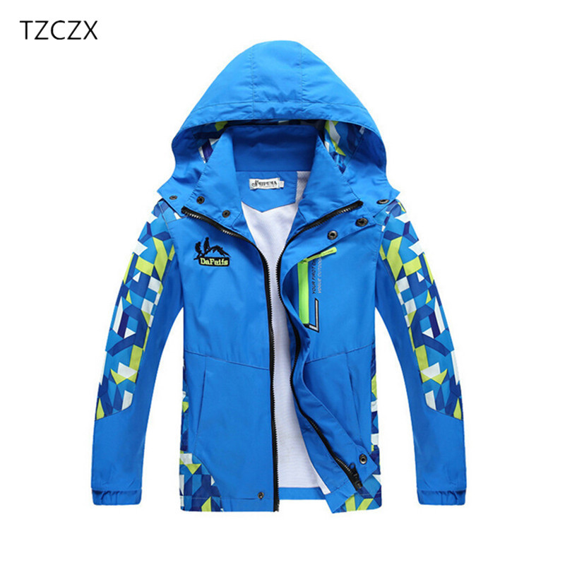 TZCZX 1pcs New Autumn Brand Fashion Children Boy's Jackets Coats Prevent wind and rain,Kids Outerwear Clothing