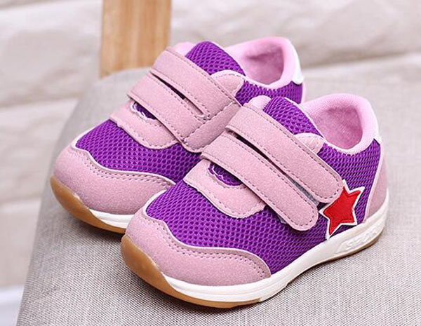 baby boys sneakers running shoes girls sport shoes purple star shoes zapato 17 new chaussure bebe sapatos SandQ baby fashion 6