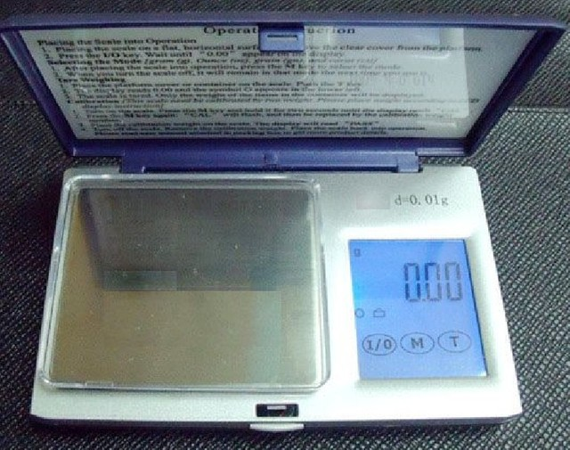 Precision Digital Jewelry  Scale Portable Gram Scale 500g x 0.01g