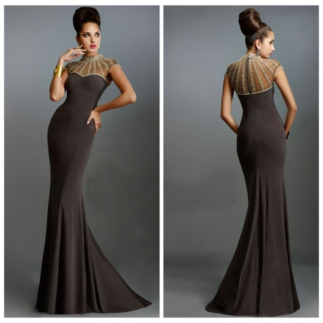 Mermaid Brown Dress