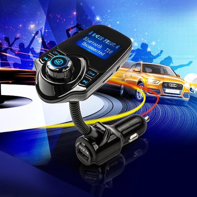 <font><b>Bluetooth</b></font> <font><b>Car</b></font> <font><b>FM</b></font> <font><b>Transmitter</b></font> Wireless Radio <font><b>Adapter</b></font> USB <font><b>Charger</b></font> <font><b>Mp3</b></font> Player image