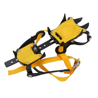 Practical Strap Type Crampons Ski Belt High Altitude Hiking Slip Resistant 10 Crampon