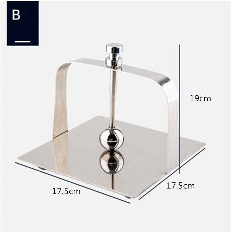 Stainless steel tissue holder/Square tissue holder/ base/Hotel restaurant napkin holder/table creative paper holder