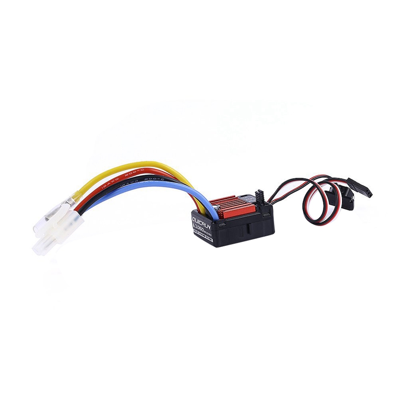 FOR Hobbywing QuicRun Accesorios 1:10 Brush 1060 Impermeable 60A ESC RC Car