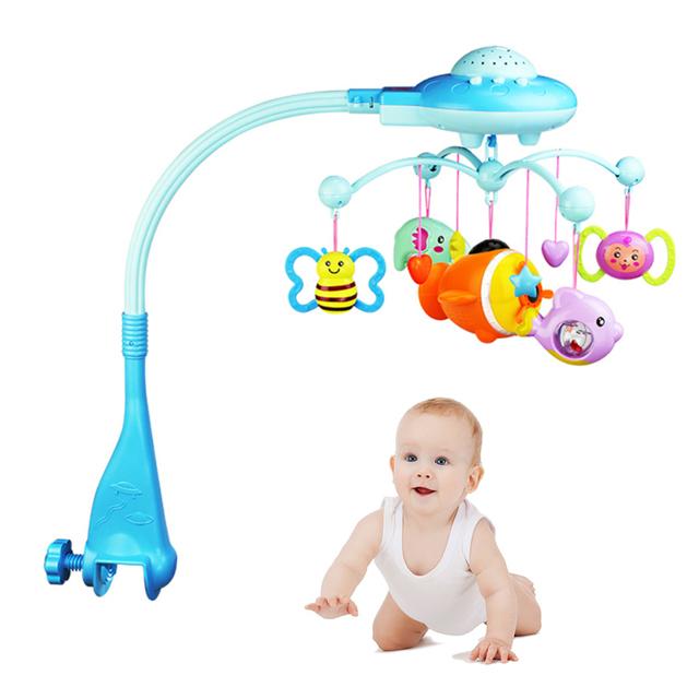 Baby Crib Musical Mobile