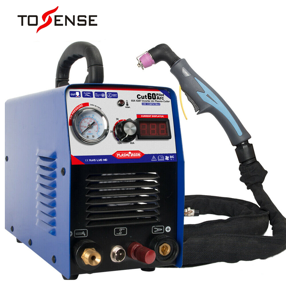 Us 303 6 34 Off 60a Igbt Air Plasma Cutter Machine Cnc Compatible Pilot Arc Power Up 1 18mm Diy In Plasma Welders From Tools On Aliexpress