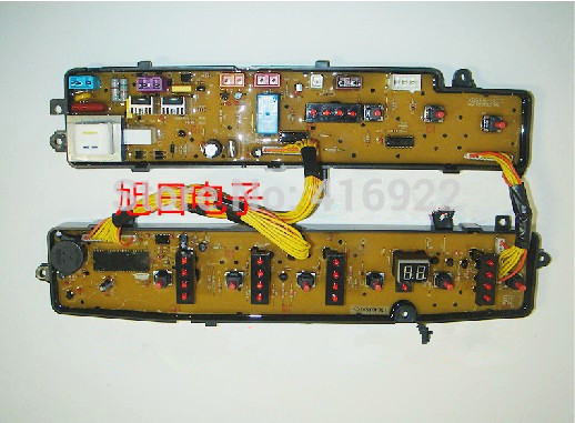 Free shipping 100% tested for Midea for rongshida washing machine circuit board xqb50-801g xqb50-802g computer board on sale free shipping 100% tested for jide washing machine board computer board xqb50 8288 ncxq 0446 11210446 board on sale
