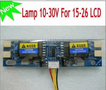 цена на Free shipping 10PCS AVT4028 PC LCD MONITOR CCFL 4 LAMP universal lcd inverter board,4 Lamp 10V-30V For 15-26 screen