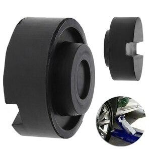 Image 2 - Gummi Schlitz Boden Jack Pad Rahmen Schiene Adapter Für Pinch Schweiß Seite Pad 1pc