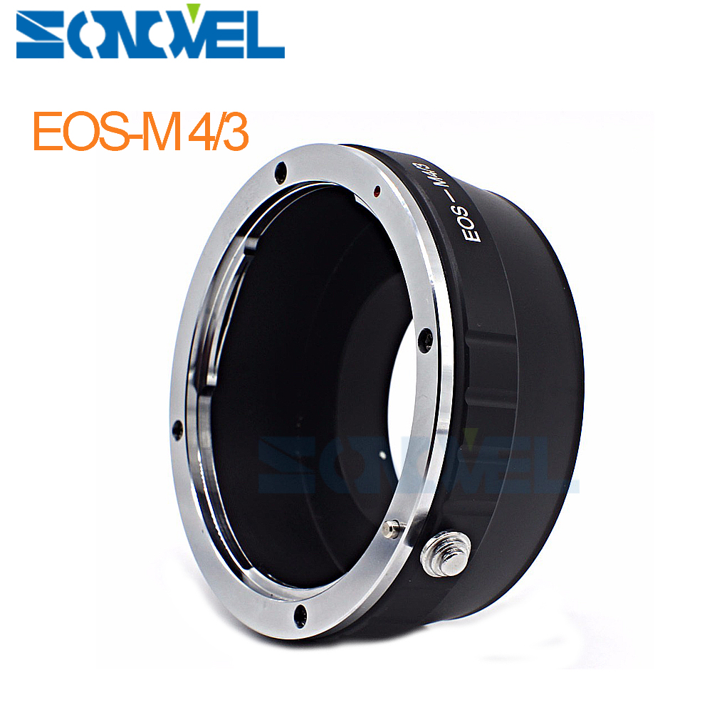 Lnes <font><b>Adapter</b></font> Ring For <font><b>Canon</b></font> EOS EF Mount Lens to Panasonnic Olympus <font><b>Micro</b></font> <font><b>4</b></font>/<font><b>3</b></font> M43 E-P2/E-PL1 G10/G7/GH1/GH2/GH3/GH4 for EOS-M4/<font><b>3</b></font> image
