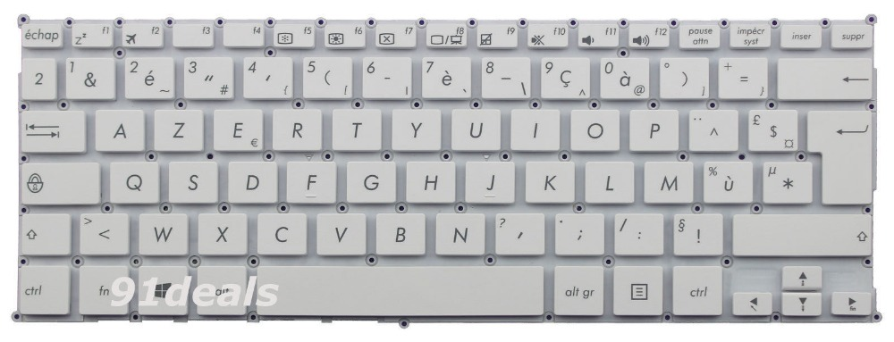 New notebook Laptop keyboard for  ASUS E200H E200HA T300F T300FA X205T X205TA French/Fr layout new laptop keyboard for asus 0kn80 1120fr00 black windows 8 french layout