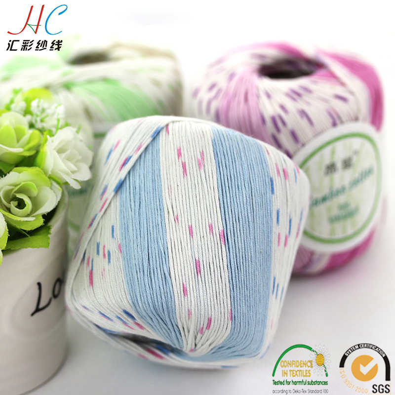 jingxing, Oeko-Tex alibaba express china hand knit yarn factory smb hot sell oeko tex 40g skeins bamboo cotton yarn for knitting