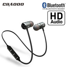 CBAOOO Bluetooth Earphone Sport high fidelity stereo In-Ear Earphone super bass smartphone music sport headset with microphone(China)