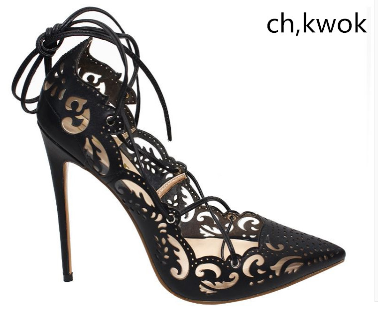 8f7e32a38a8 Buy lace up heels gold and get free shipping on AliExpress.com