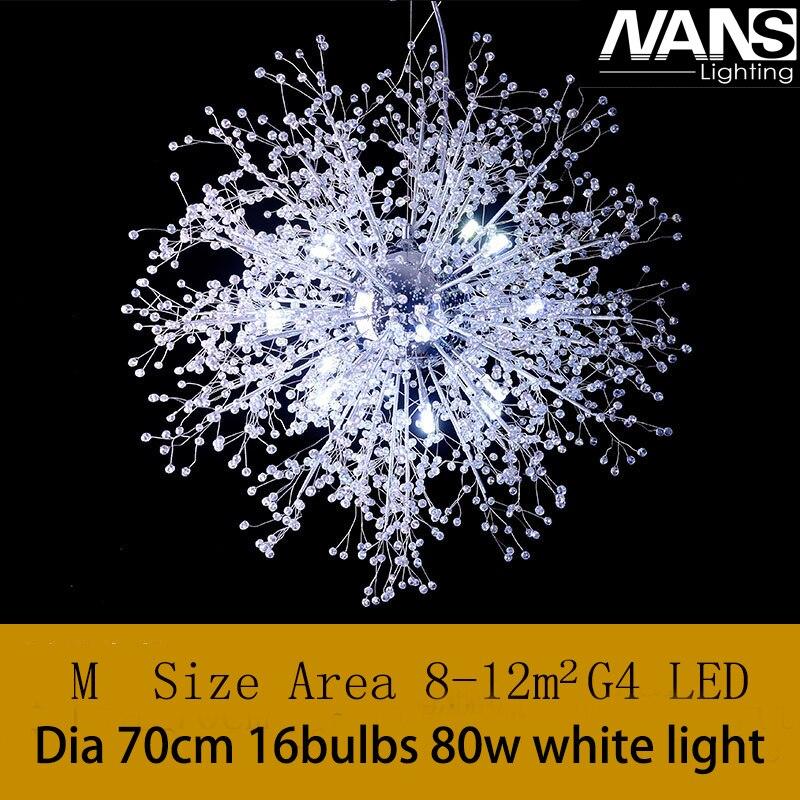 NANS Lumière Lustre en cristal Moderne Grand lustres De Luxe Moderne Lustre Éclairage de mode De Luxe transparent K9 Crysta